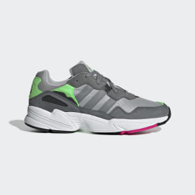 adidas - Yung-96 Shoes Grey Two / Grey Three / Shock Pink F35020