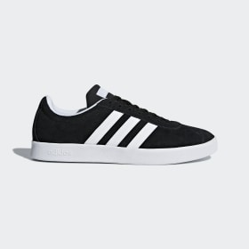 adidas - VL Court 2.0 Shoes Core Black / Cloud White / Aero Blue DA9887