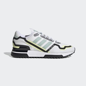 adidas - ZX 750 HD Shoes Cloud White / Green Tint / Core Black FV2875