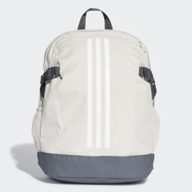 adidas - 3-Stripes Power Backpack Medium Raw White / White / White DU2009