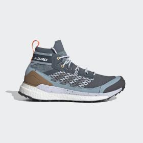 adidas - Scarpe da hiking Terrex Free Hiker Legacy Blue / Dgh Solid Grey / Ash Grey EF0369