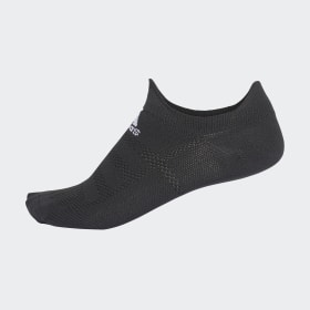 adidas - Calcetines piqui Alphaskin Ultralight Black / White CG2678