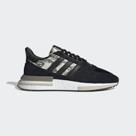 adidas - Zapatilla ZX 500 RM Core Black / Core Black / Cloud White BD7924