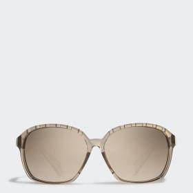 SP0013 Shiny Black Injected Sport Sunglasses