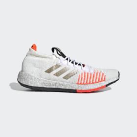adidas - Tenisky Pulseboost HD Core White / Cyber Met. / Solar Red EE9564