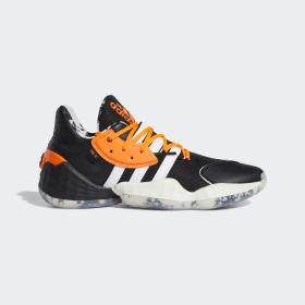 adidas - Daniel Patrick x Harden Vol. 4 Schuh Core Black / Cloud White / Solar Orange FV8053