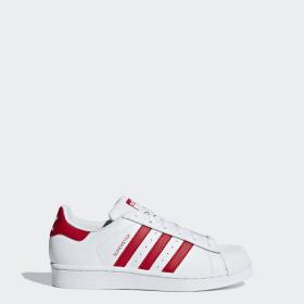 stor rabatt Adidas Promodel Skor Vit Röd Adidas Sneakers    adidas Superstar Skor   title=          adidas Officiella Butik