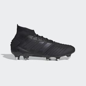 adidas - Predator 19.1 Soft Ground Boots Core Black / Core Black / Utility Black EG2831
