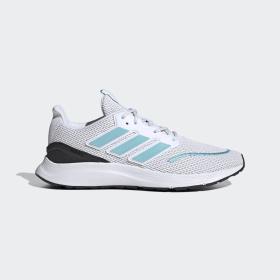 adidas - ENERGYFALCON Schoenen Cloud White / Blue Spirit / Dash Grey EH3146