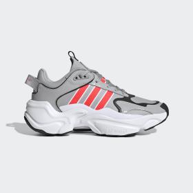 adidas - Scarpe Magmur Runner Grey Two / Shock Red / Cloud White EF5087