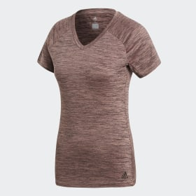 adidas - FreeLift Fitted T-Shirt Trace Scarlet CF4444