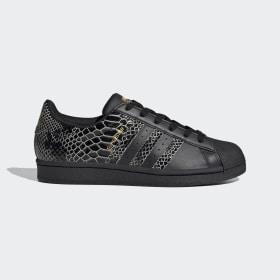 adidas - Dámská obuv Superstar Core Black / Core Black / Gold Metallic FV3290