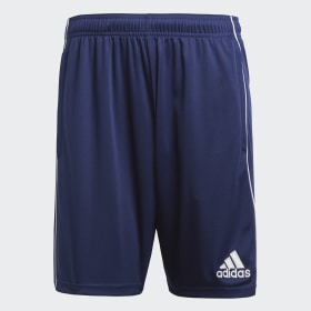 adidas - Core 18 Training Shorts Dark Blue / White CV3995