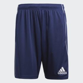 adidas - Core 18 Training Shorts Dark Blue / White CV3995