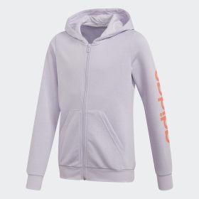 adidas - Linear Hoodie Purple Tint FM6978
