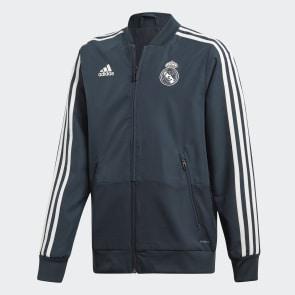 Sudadera entrenamiento Real Madrid - Azul adidas  e83e13ae7be7e