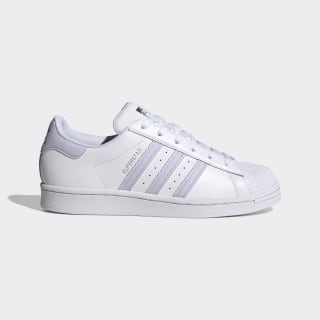 Women's Superstar Cloud White and Light Purple Shoes | adidas US