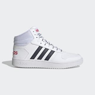 adidas Hoops 2.0 Mid Shoes - Black | DB0113 | adidas US