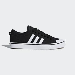 Nizza Core Black and Cloud White Shoes | adidas US