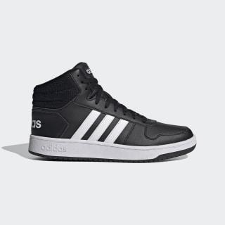 adidas Hoops 2.0 Mid Shoes - Grey | adidas US