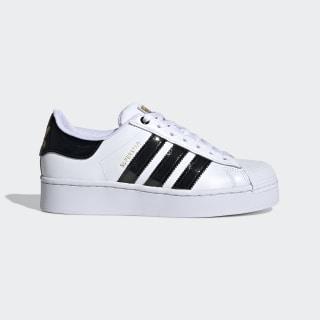 Chaussures Superstar Bold blanches et noires pour femme | adidas ...