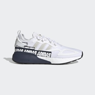 adidas ZX 2K Boost Shoes - Blue | FX8836 | adidas US