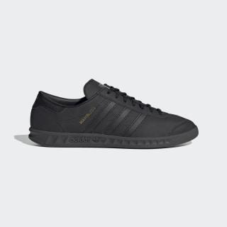 adidas Hamburg Shoes - Black | adidas UK