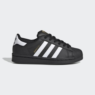 Kids Superstar Cloud White and Core Black Shoes | adidas US
