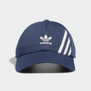 adidas Relaxed SST Strap-Back Hat - Blue | adidas US