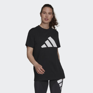 adidas Sportswear Future Icons Logo Graphic Tee - Black   adidas US