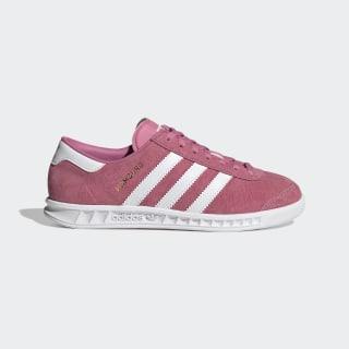 adidas Hamburg Shoes - Pink | adidas UK