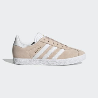 Chaussures Gazelle roses et blanches pour fille   adidas France