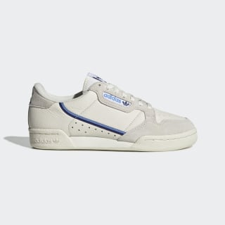 Women's Continental 80 Off White and Blue Shoes| adidas US