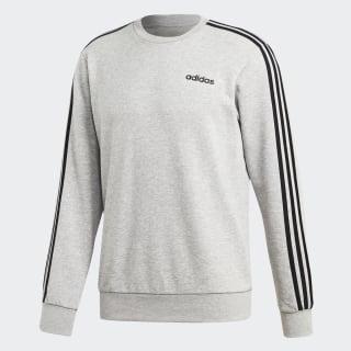 adidas Essentials 3 Streifen Sweatshirt Grau | adidas Austria