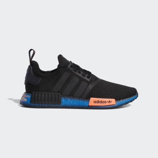NMD R1 Black and Blue Shoes | adidas US