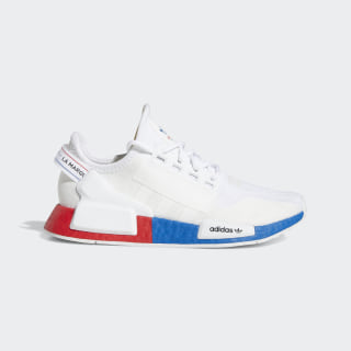 Kids NMD R1 V2 Cloud White, Red and