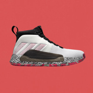 adidas Dame 5 Shoes - White | adidas US