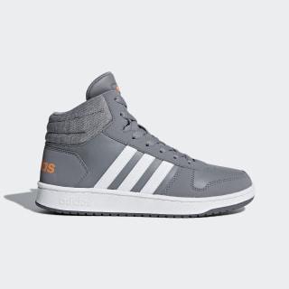 adidas Hoops 2.0 Mid Shoes - Grey