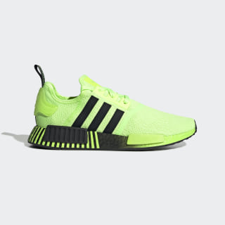 Men's NMD R1 Neon Green and Black Shoes
