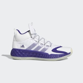 adidas Pro Boost Mid Shoes - White