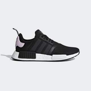 Women's NMD R1 Black and Lavender Shoes