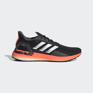 Men's Ultraboost PB Core Black and Coral Shoes | adidas US