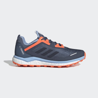 adidas Terrex Agravic Flow Trail Running Shoes - Blue ...