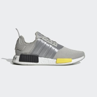 NMD R1 Grey and Yellow Shoes   adidas US