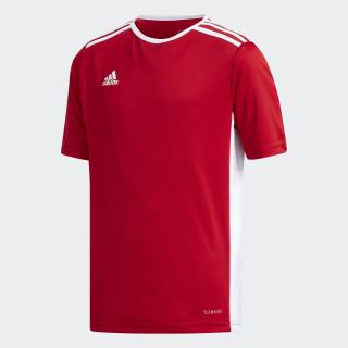Camiseta ENTRADA 18 JSYY POWER RED/WHITE CF1050