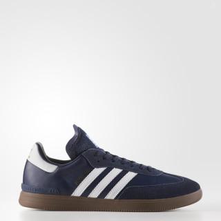Samba ADV Shoes Collegiate Navy / Cloud White / Gum BY3930
