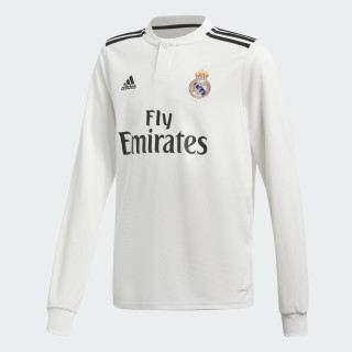 Jersey de Local Real Madrid 2018 CORE WHITE/BLACK CG0546