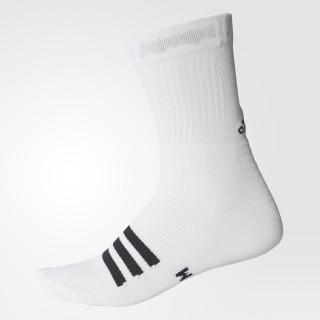 1 par de tenis Crew Socks WHITE/BLACK/BLACK CE8141