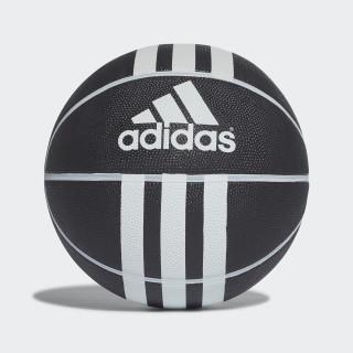 3-Streifen Rubber X Basketball Black/White 279008