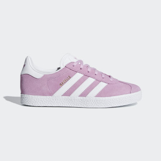 Gazelle Shoes Clear Lilac / Ftwr White / Ftwr White B41902